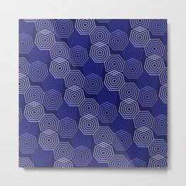 Op Art 117 Metal Print
