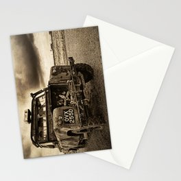 Abandoned Landrover at Dungeness Stationery Cards