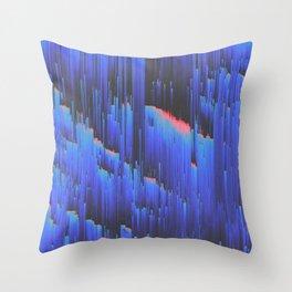 Creeping Melancholia Throw Pillow