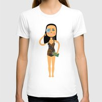 astrology T-shirts featuring Fashion Icon: Astrology by Mouki K. Butt