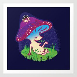 Cosmo's Egg Art Print