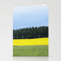 sweden Stationery Cards featuring Sweden by Anya Kubilus