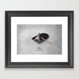 Pink Floyd - Dark Side of the Moon Framed Art Print