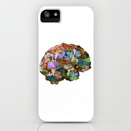 butterflies in my brain iPhone Case