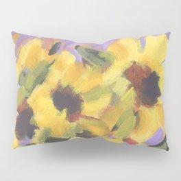 Golden Sunflower Bouquet Pillow Sham