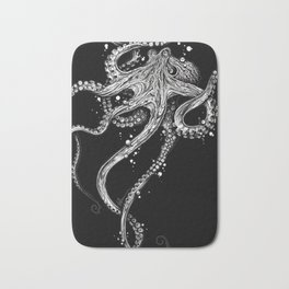 Octopus (black) Bath Mat