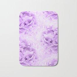 Purple Peonies Dream #2 #floral #decor #art #society6 Bath Mat