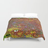 san francisco Duvet Covers featuring san francisco by donphil