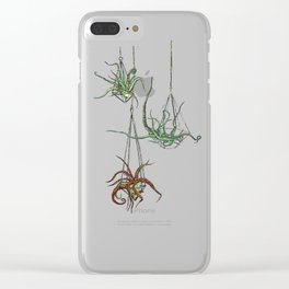 Hanging Cephaloplants Clear iPhone Case