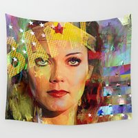 wonder Wall Tapestries featuring Wonder by Joe Ganech