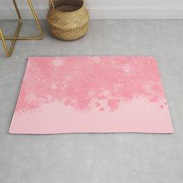 paint splatter on gradient pattern pw Rug