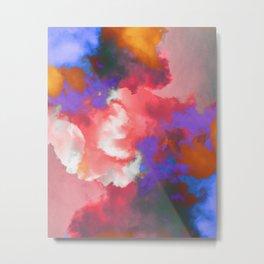 Colorful clouds in the sky II Metal Print