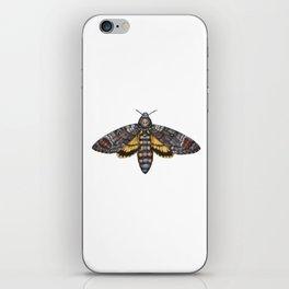 African Death's Head Hawkmoth (Acherontia atropos) iPhone Skin