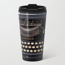 Corona Typewriter Travel Mug
