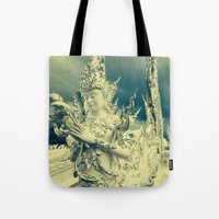 thailand Tote Bags featuring Thailand by very giorgious