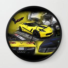 2015 Corvette ZO6 Wall Clock