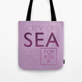 The City of Seattle Tote Bag