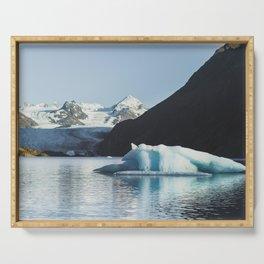 Grewingk Glacier Serving Tray