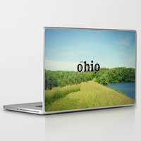 ohio Laptop & iPad Skins featuring Hello Ohio by KimberosePhotography