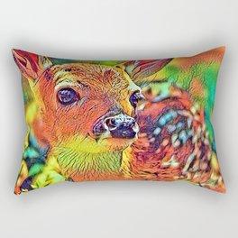 AnimalColor_Deer_002_by_JAMColors Rectangular Pillow