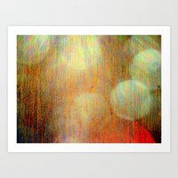 7000 ft light Art Print
