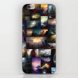 Fantasy Worlds - A Digital Art Collage iPhone Skin