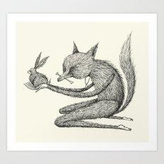 'Offering' (Simplified) Art Print