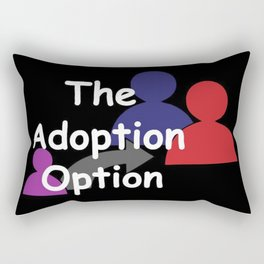 """The Adoption Option"" TV Show Logo Rectangular Pillow"