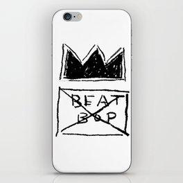 Basquiat Beat Bop iPhone Skin