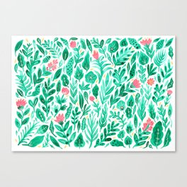 June Blooms Canvas Print