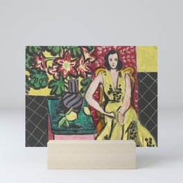 Seated Woman with Vase by Henri Matisse Mini Art Print