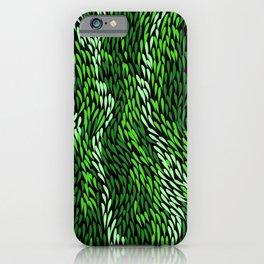 Authentic Aboriginal Art - Grass iPhone Case