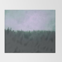Suffocate  Throw Blanket