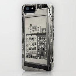 Cancel Rent series -II-  iPhone Case