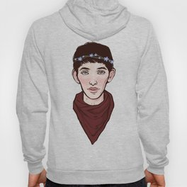 Merlin Flowercrown Hoody