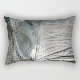 old elephant eye Rectangular Pillow