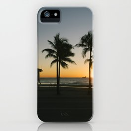 Fort Lauderdale at sunrise iPhone Case
