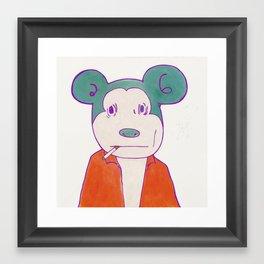 I AM A COMMON MAN Framed Art Print