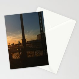 Sunset, Munich Hackerbrücke Stationery Cards