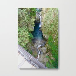 lynn canyon suspension bridge, 2017 Metal Print
