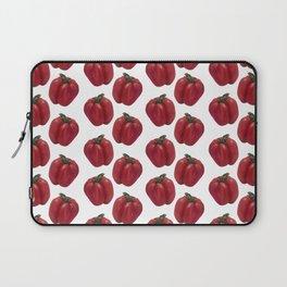 Red Bell Pepper pattern Laptop Sleeve