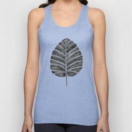 Elephant Ear Alocasia – Black Palette Unisex Tank Top