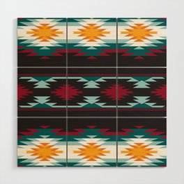 Native American Inspired Design Wood Wall Art
