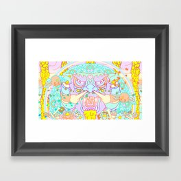 Between Heaven & Earth  Framed Art Print