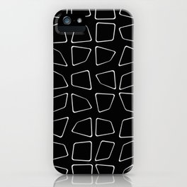 Changing Perspective - Simplistic Black and white iPhone Case