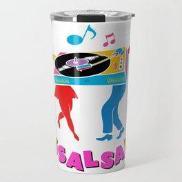 Salsa dance Travel Mug