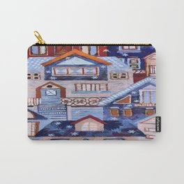 Winter town Carry-All Pouch