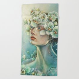 Displacement Beach Towel