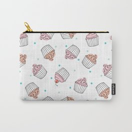 Cupcake Delight Pinks Carry-All Pouch