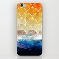 scales iPhone & iPod Skins featuring Scales by Michael Scott Murphy